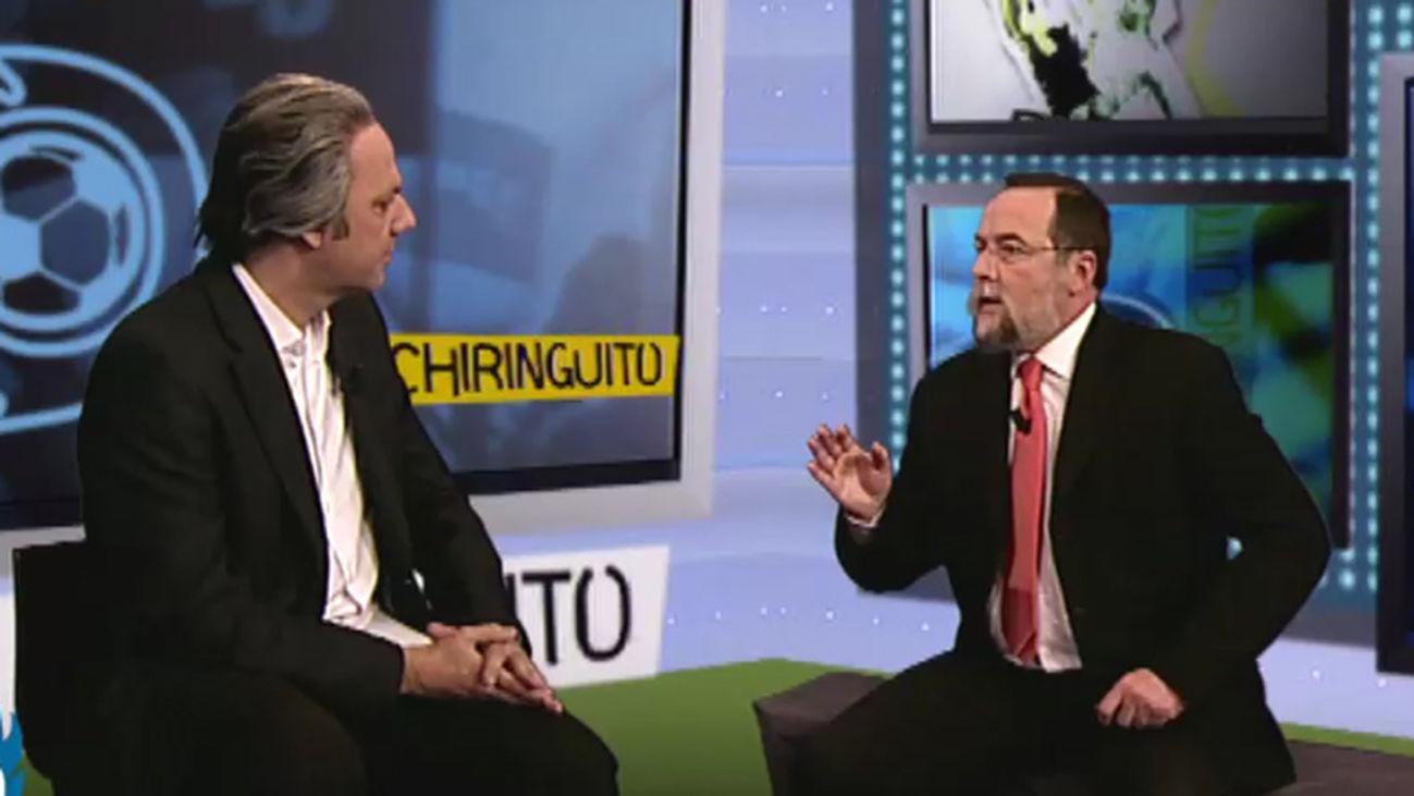 """El Tele Chiringuito tiene un invitado """"institucional"""""""