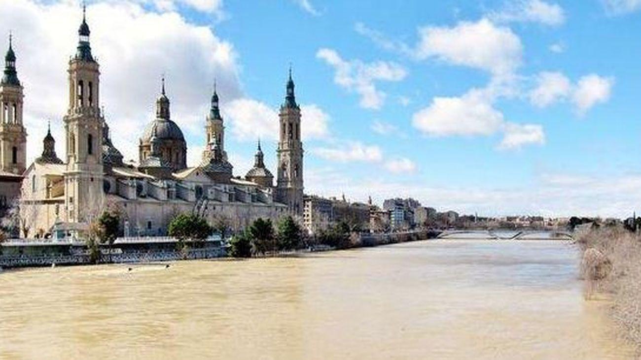 Zaragoza afronta este domingo la punta máxima del Ebro
