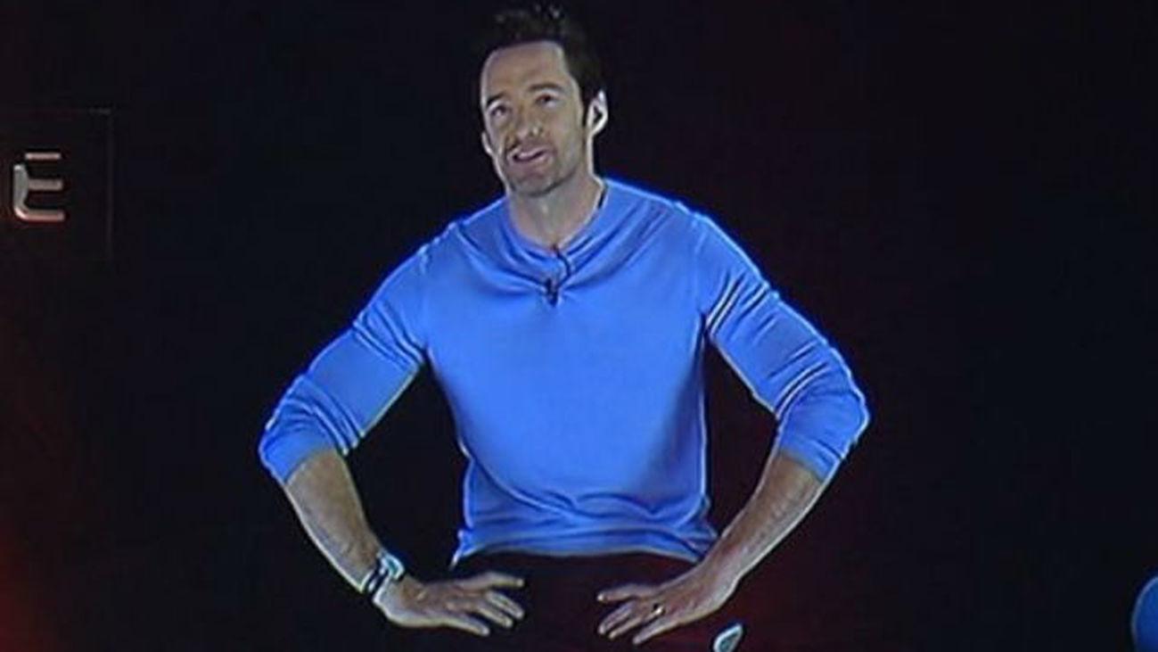 Los hologramas de Neill Blomkamp y Hugh Jackman presentan 'Chappie'