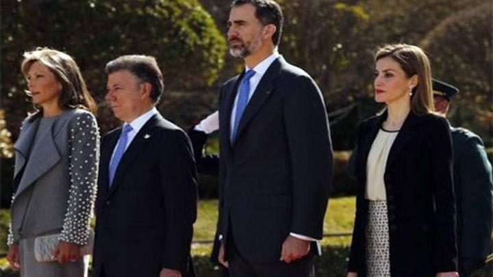 Santos agradece el apoyo político y diplomático en visita de Estado a España
