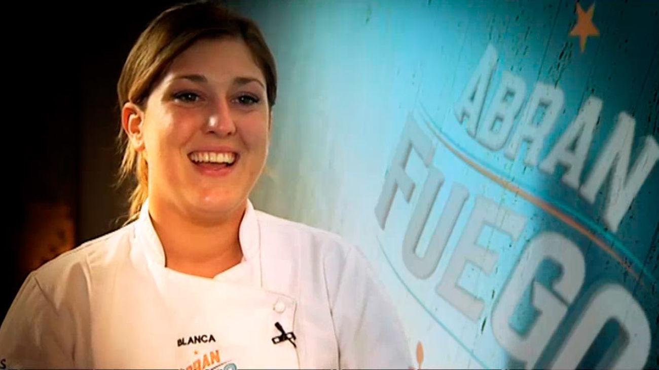 Blanca, ganadora de la 1ª edición de Abran Fuego