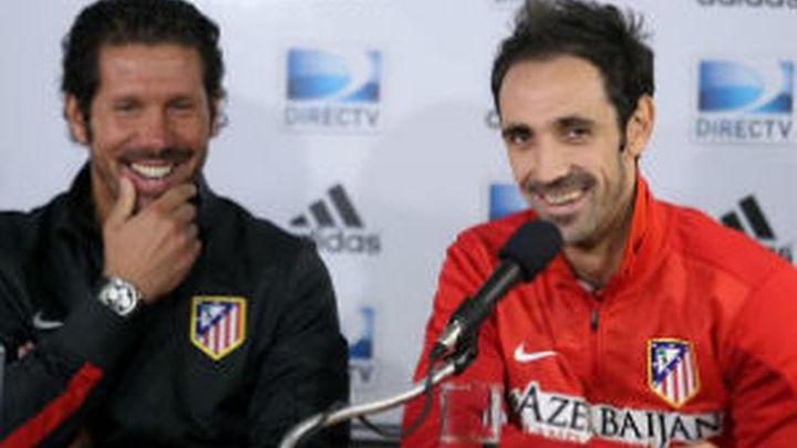 "Juanfran: ""A Simeone le haría un contrato vitalicio"""