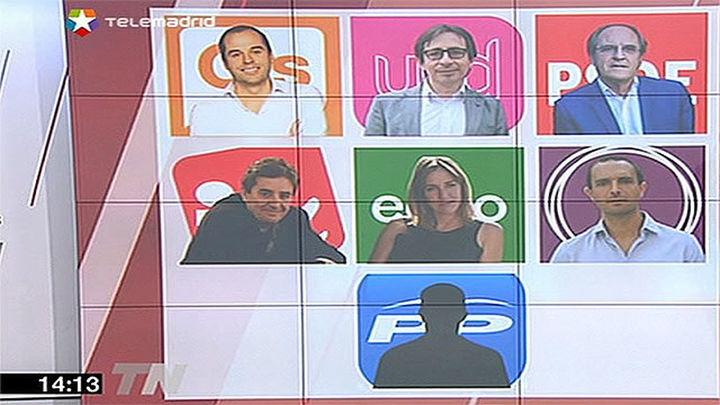 Sólo el PP queda pendiente de despejar sus candidatos por Madrid