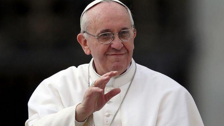 """El Papa a Abás: """"Usted es un poco como un ángel de la paz"""""""