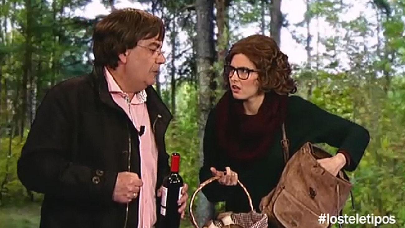 Ruta 180 regresa al monte de Rascafrosca para buscar setas con una experta micóloga, Arsenia