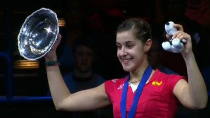 Carolina Marín gana el prestigioso All England