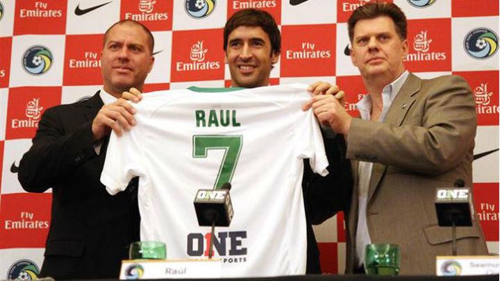 Raúl no descarta ser entrenador