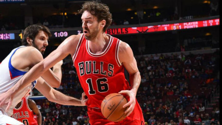 Pau y Mirotic destacan en el triunfo de Bulls; derrotas de Marc, Ibaka y Rubio