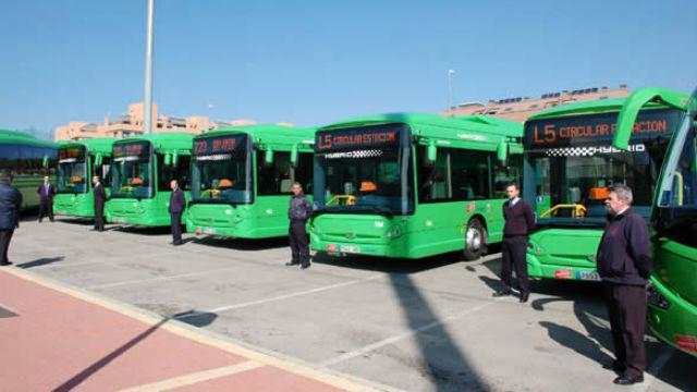 Nuevos autobuses h bridos para colmenar viejo y tres cantos telemadrid radio televisi n madrid - Empresas colmenar viejo ...