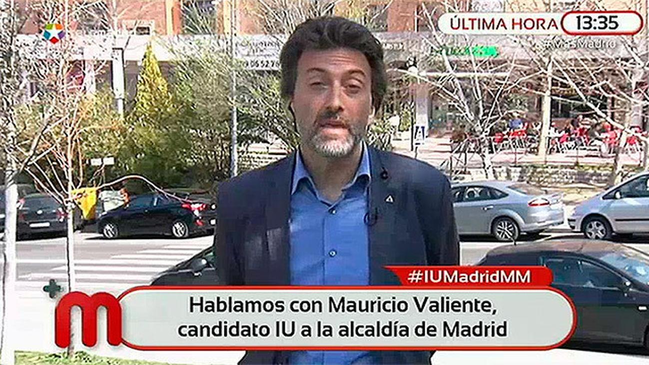 """Mauricio Valiente: """"No doy validez a la consulta"""""""
