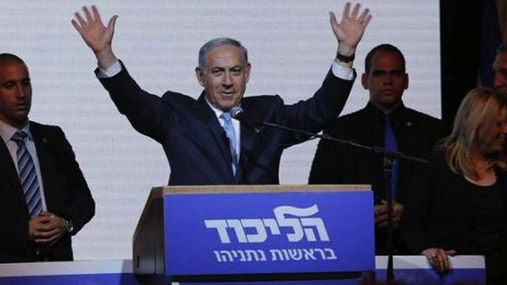 Netanyahu se impone en las urnas y aspira a formar gobierno en 2 ó 3 semanas
