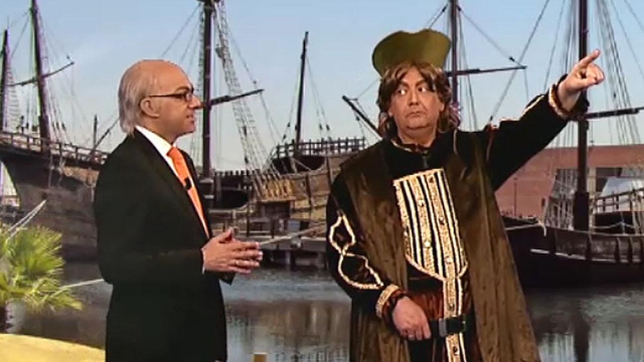 Regresa el tele Ministerio del Tiempo, con el tocayo de Montoro en el punto de mira: Cristóbal Colón