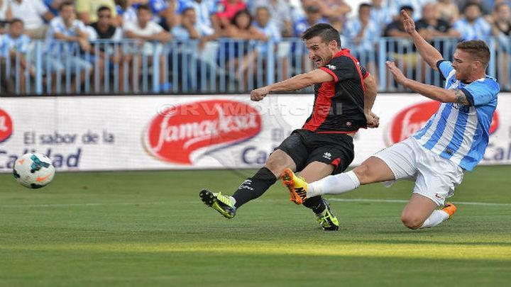 1-0. El Rayo gana al Málaga y acaricia la salvación