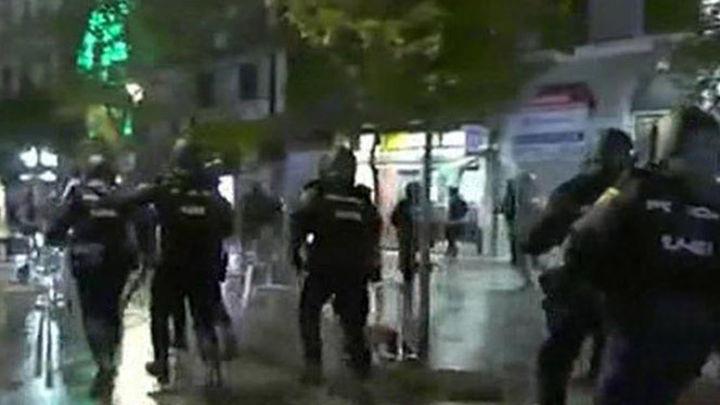 Tres menores, entre los 17 detenidos, por los altercados en Madrid