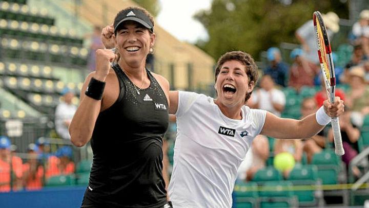 Suárez y Muguruza logran su mejor ranking en la WTA