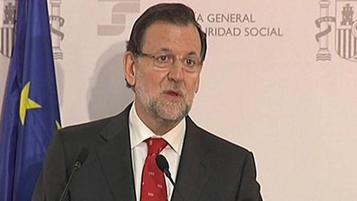 """Rajoy lamenta el """"tristísimo y dramático"""" accidente de los Alpes"""
