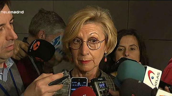 Rosa Díez asegura contar con el respaldo de la mayoría de UPyD