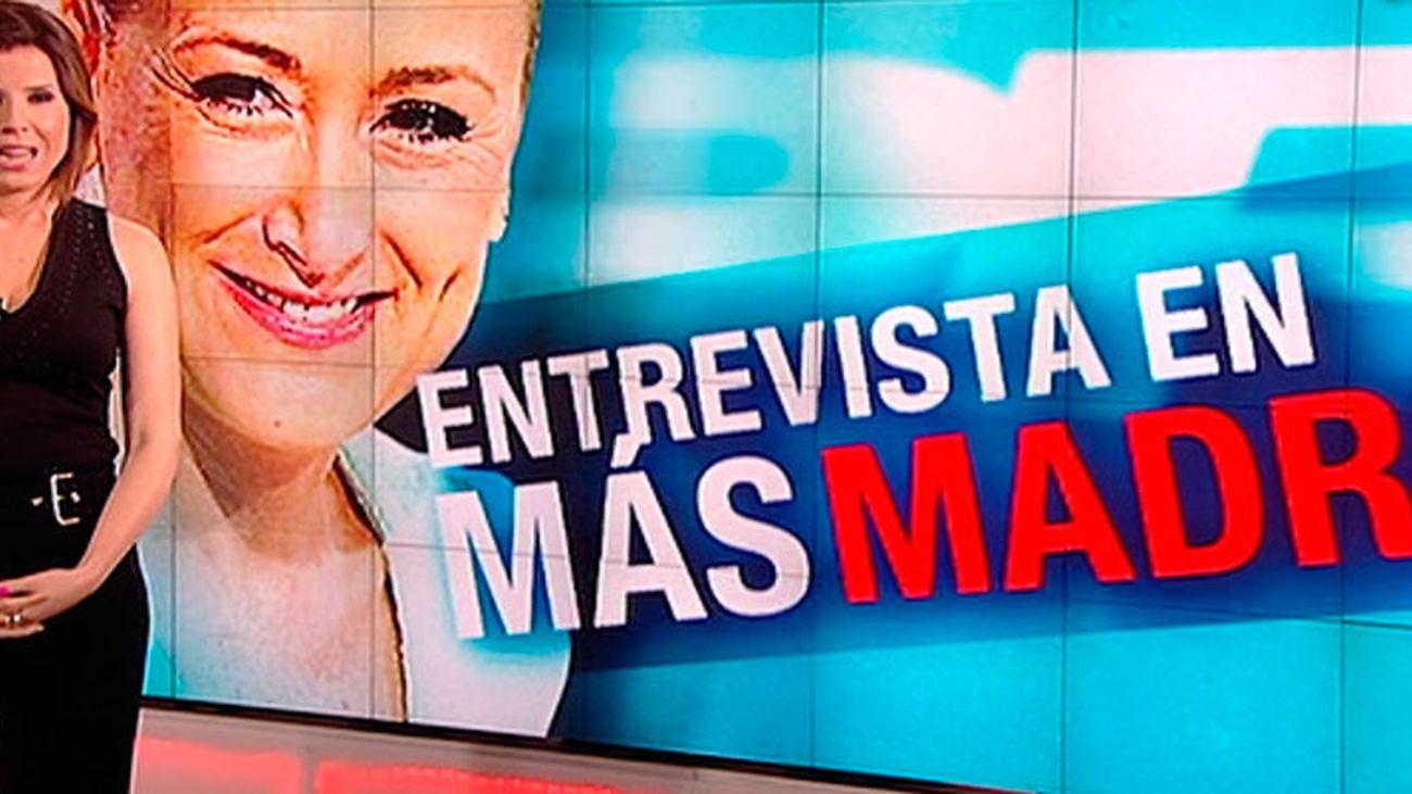 "Cristina Cifuentes: ""En Madrid, el PSOE va a pactar con Podemos"""