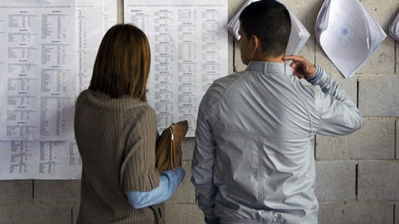 Las listas del censo electoral se exponen en Madrid a partir del próximo lunes