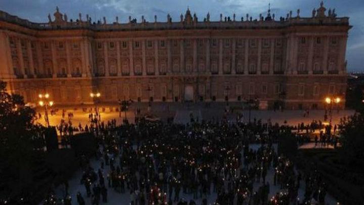 Madrid se apaga en la Hora del Planeta contra el cambio climático