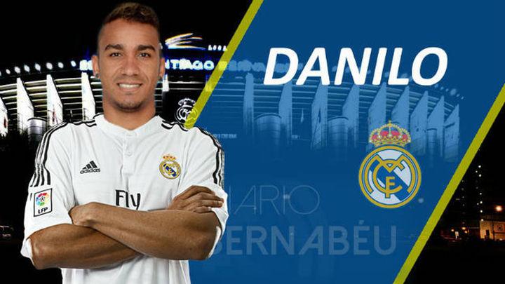 El Real Madrid hace oficial el fichaje de Danilo por 31,5 millones de euros
