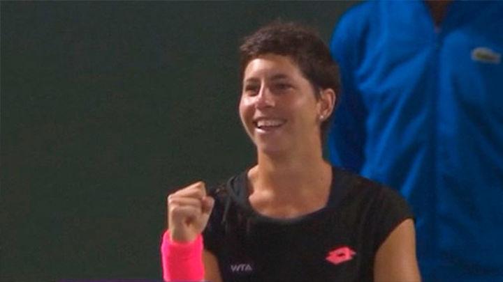 Carla Suárez se mete en la final de Miami y en el 'top ten' mundial