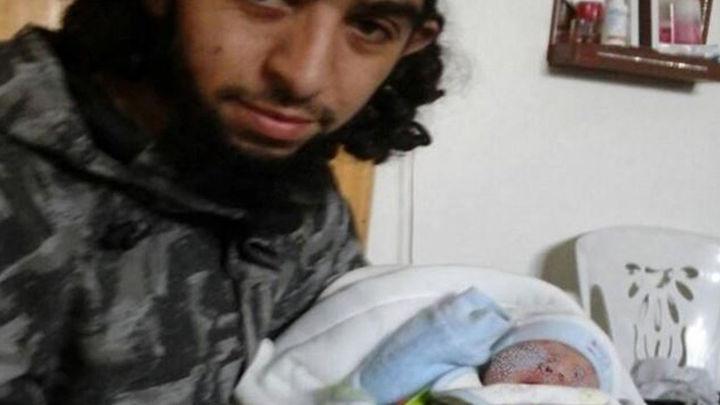 Nace el primer bebé español fruto del matrimonio entre una joven de Ceuta y un yihadista
