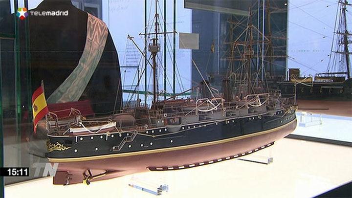 'Hombres de la mar, barcos de leyenda' en el Museo Naval de Madrid