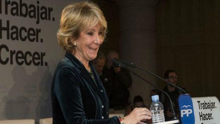 Aguirre y Cifuentes apelan a los principios del PP para convencer a los electores