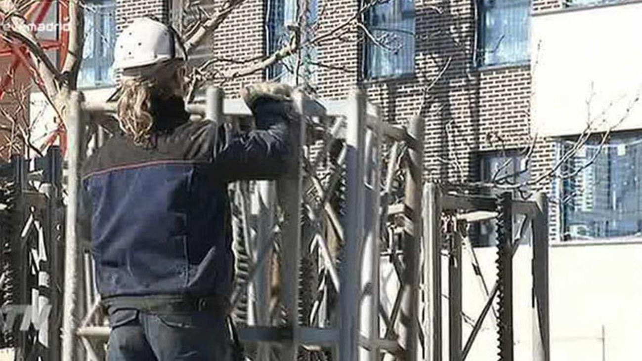 La construcción vuelve a tirar del empleo