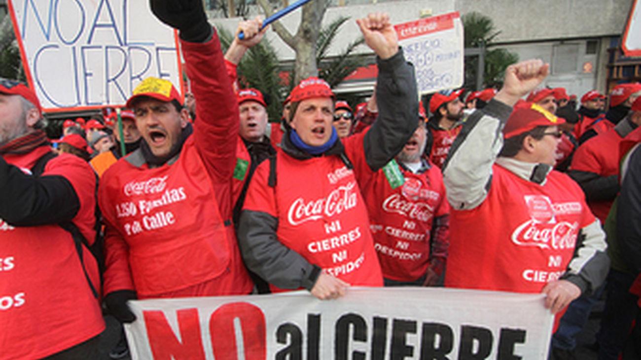 El Supremo confirma la nulidad de los despidos en Coca Cola por vulnerar el derecho a la huelga