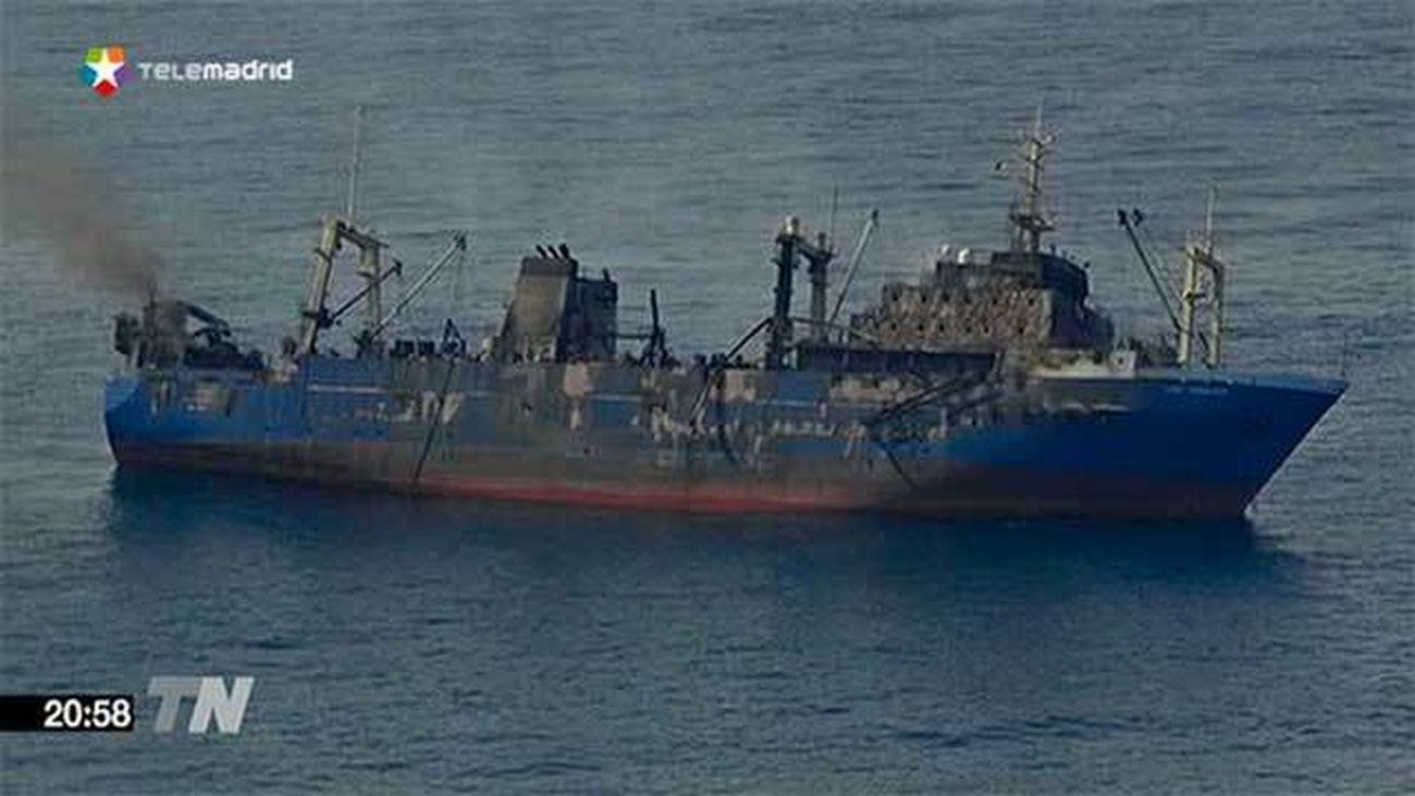 El pesquero Oleg Naydenov se hunde 15 millas al sur de Maspalomas