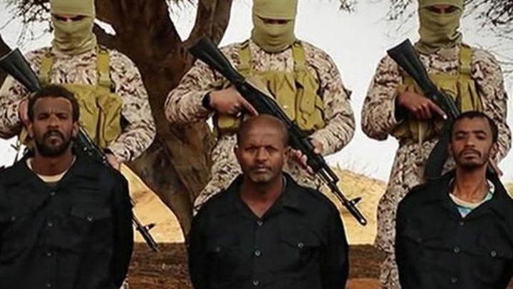 El vídeo de la ejecución de la de 30 cristianos etíopes