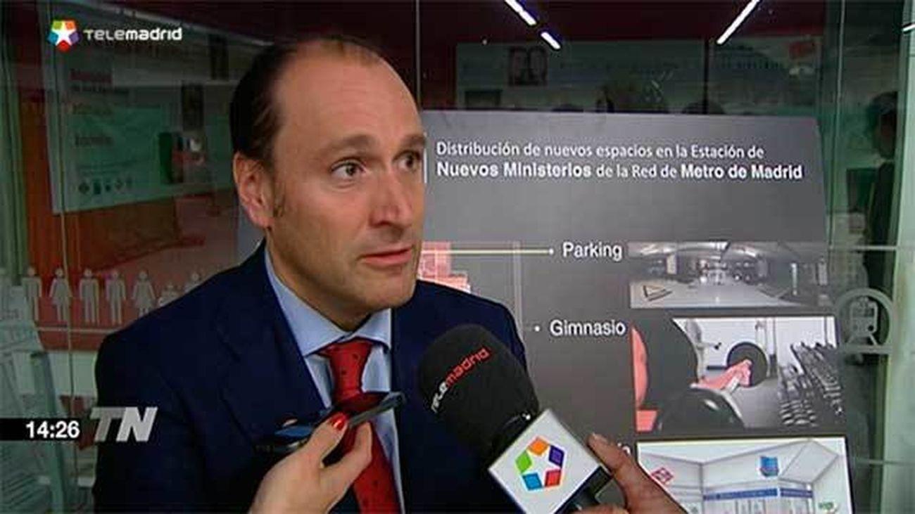 El Metro de Nuevos Ministerios albergará un gimnasio, una comisaría y un parking