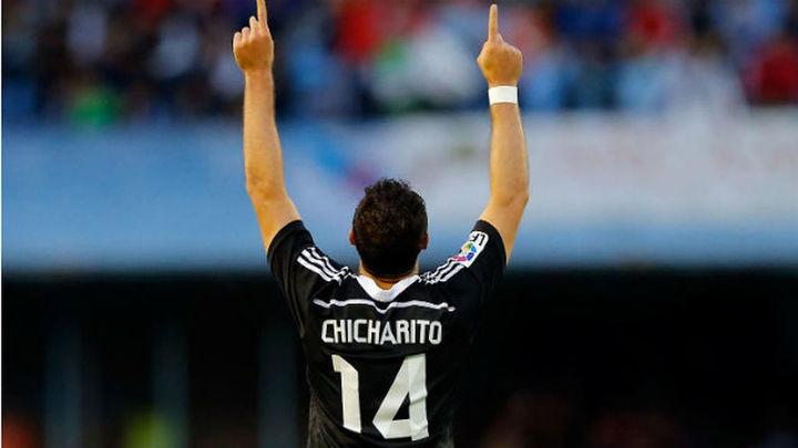"""'Chicharito': """"No sé si voy a estar aquí un año o más, no depende de mí"""""""