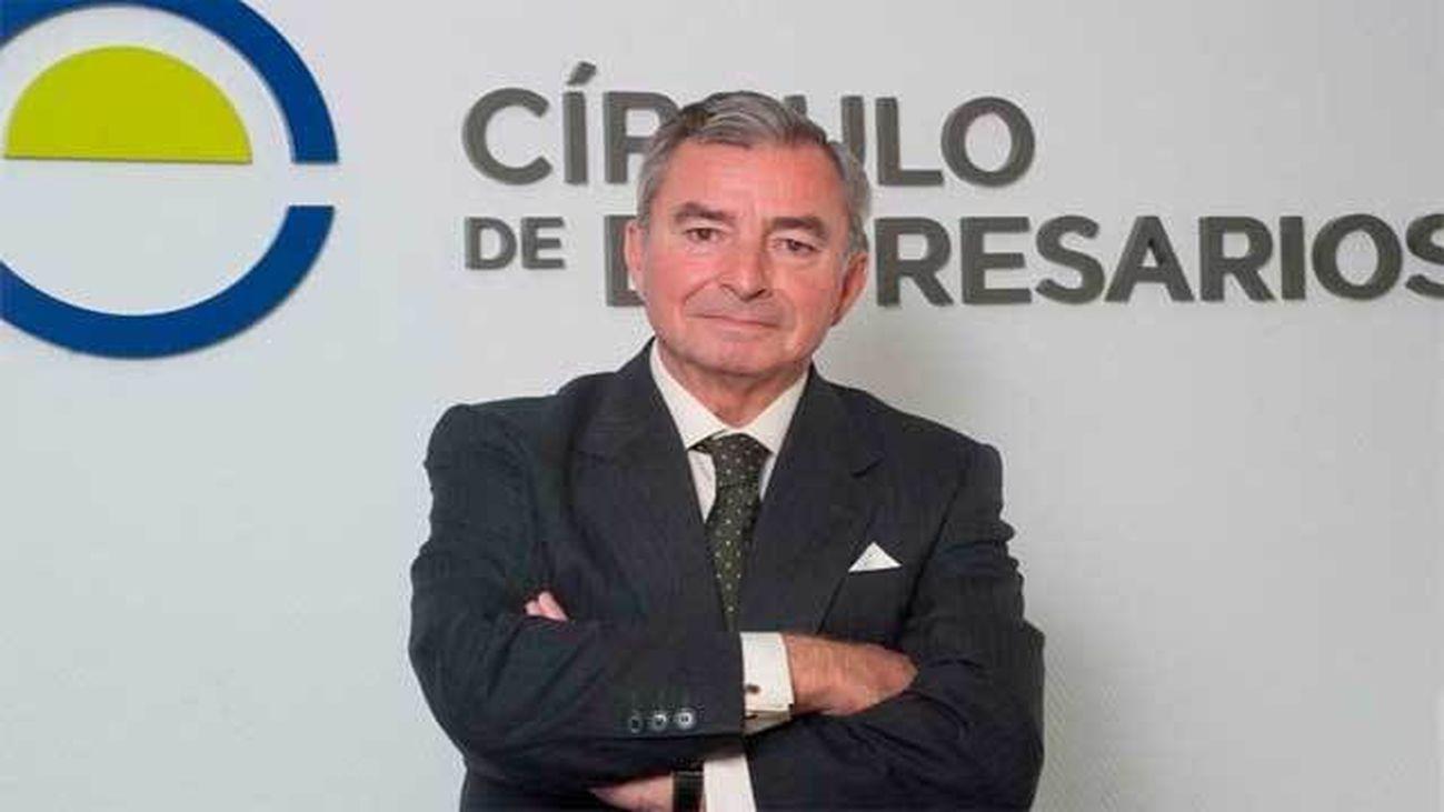 El presidente del Círculo de Empresarios, Javier Vega de Seoane