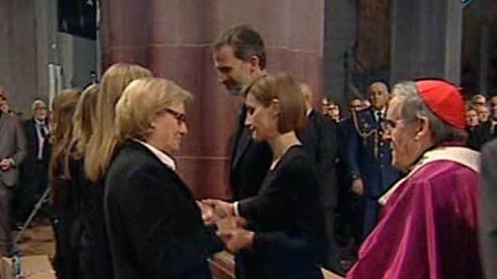La Sagrada Familia acoge el funeral por las víctimas de Germanwings