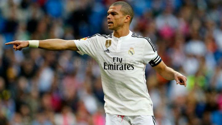 """Pepe: """"Esta camiseta nos pide que luchemos hasta el final"""""""