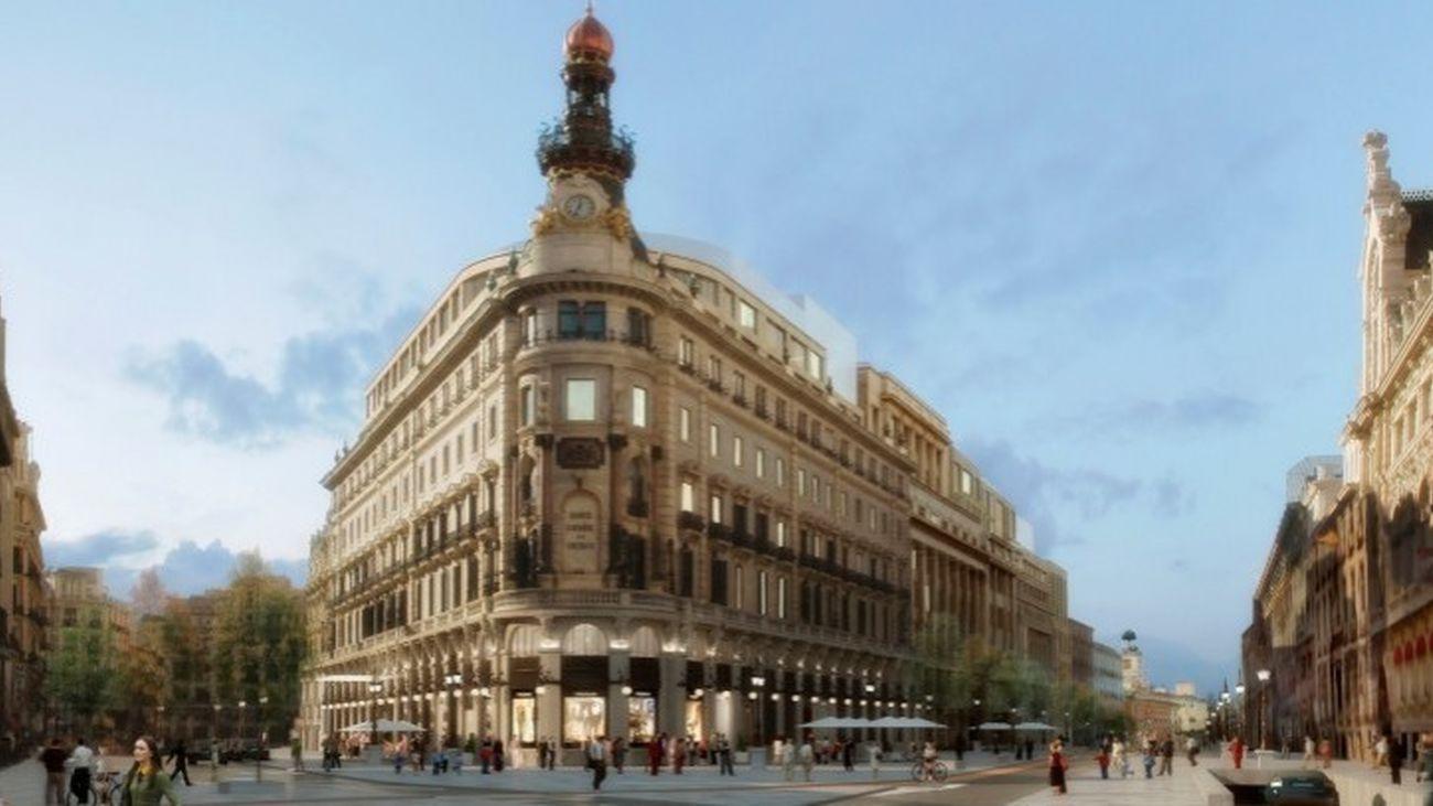 Villar Mir vende el 50% del complejo de lujo Canalejas al fundador de 'Poker Stars'