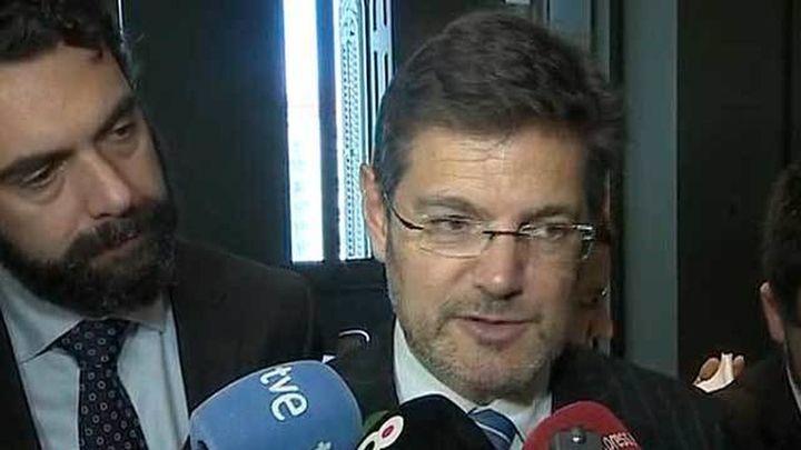 """Catalá: """"Hay que reflexionar si debe sancionarse publicar informaciones bajo secreto"""""""