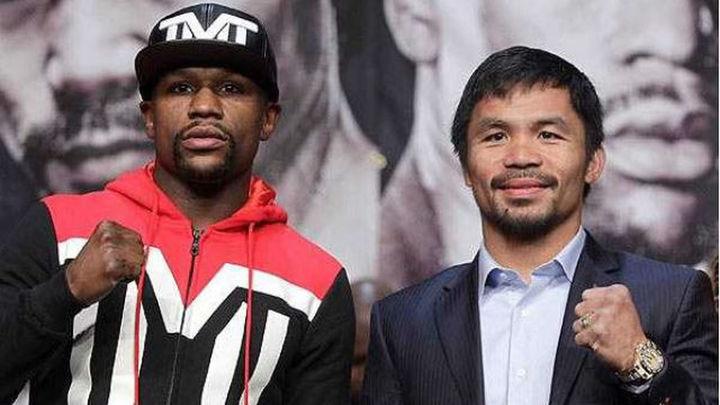 Mayweather y Pacquiao dan la mejor imagen del boxeo antes de la gran pelea