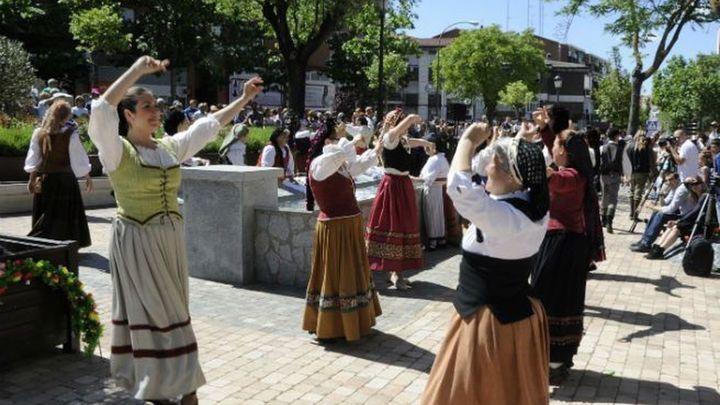 Un espectáculo piromusical abre las fiestas del 2 de Mayo en Móstoles