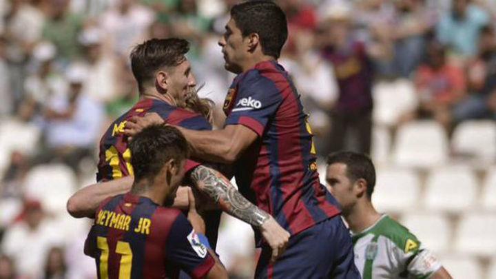 0-8. El Barça le clava 8 al Córdoba y le manda a Segunda