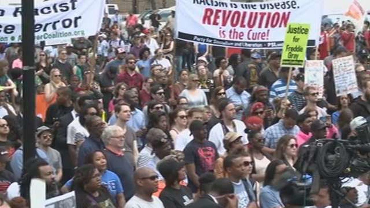 Manifestación en Baltimore