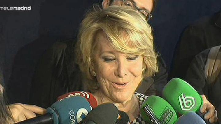 Empate técnico entre Aguirre y Carmena en Ayuntamiento Madrid, según un sondeo de El País