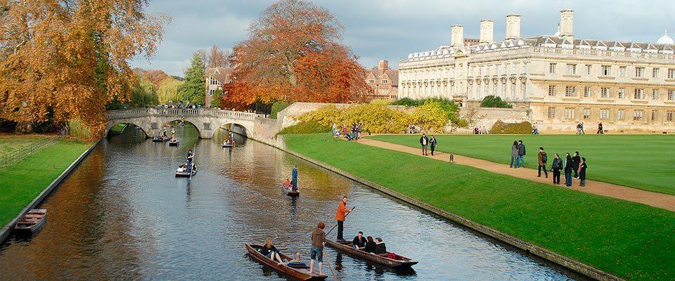 Una ciudad que vive en torno a la prestigiosa universidad