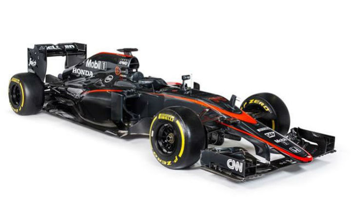 McLaren desvela el nuevo aspecto de su MP4-30