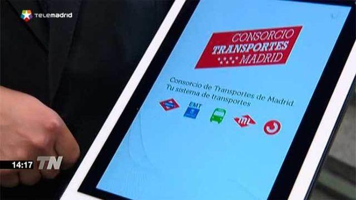 Una 'app' unifica toda la información en tiempo real del transporte público madrileño