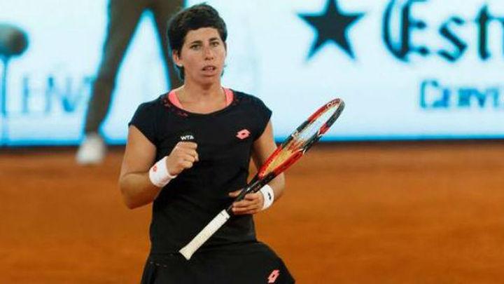 Madrid: Carla Suárez vuelve a tropezar frente a Serena Williams