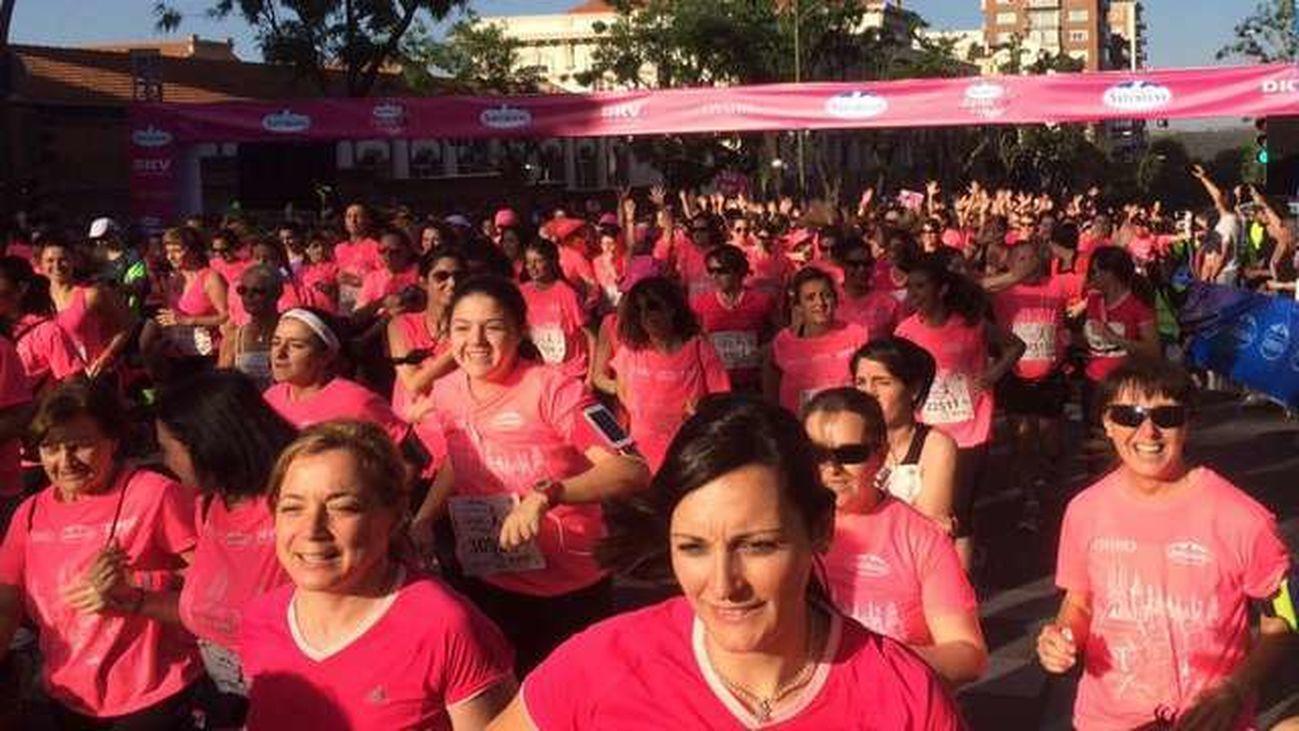 La Carrera de la Mujer vuelve a Madrid, todas las corredoras con dorsal 016